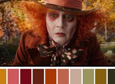 Color Palettes From Famous Movies Show How Colors Set The Mood Of A Film
